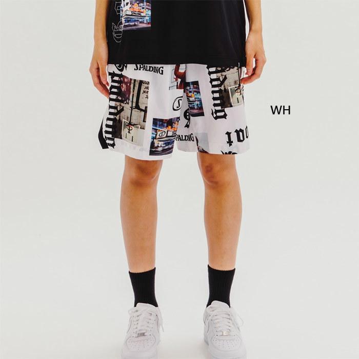 スポルディング メンズ レディース 布帛パンツ ストリートゴート バスケットボールウェア バスパン ボトムス ハーフパンツ SMP210220|vitaliser|03