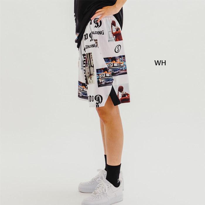 スポルディング メンズ レディース 布帛パンツ ストリートゴート バスケットボールウェア バスパン ボトムス ハーフパンツ SMP210220|vitaliser|04