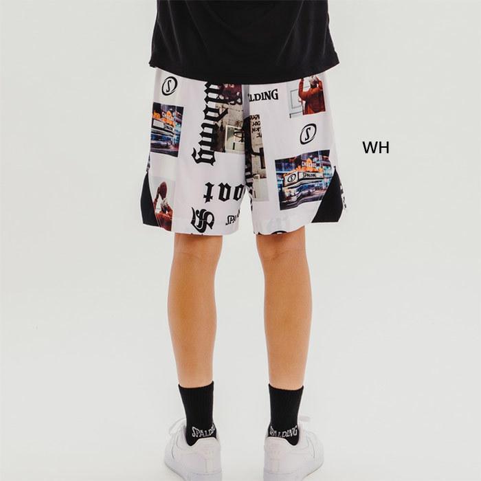 スポルディング メンズ レディース 布帛パンツ ストリートゴート バスケットボールウェア バスパン ボトムス ハーフパンツ SMP210220|vitaliser|05