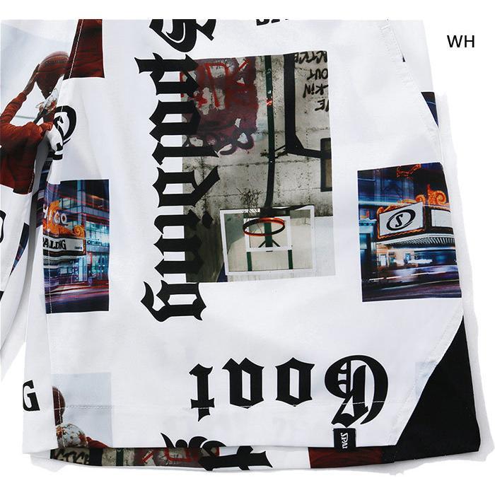 スポルディング メンズ レディース 布帛パンツ ストリートゴート バスケットボールウェア バスパン ボトムス ハーフパンツ SMP210220|vitaliser|08