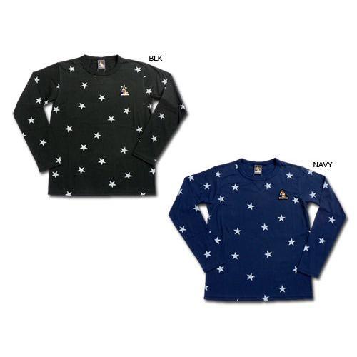 SVOLME/スボルメ 星柄 ロング Tシャツ (143-20110)