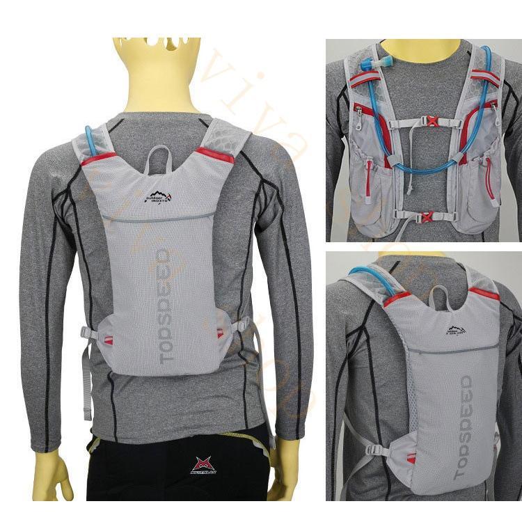 ランニングバッグ リュック 撥水加工 ハイドレーション サイクリングバッグ サイクルバッグ アウトドア 大容量 ジョギング 超軽量 ユニセックス バッグ viva-v1 11