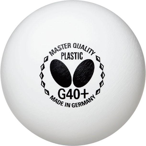 バタフライ マスタークオリティプラスチック G40+ 6ダース トレーニングボール Butterfly バタフライ タッキュウキョウギボール (95760-270)