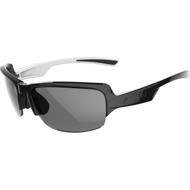 DF-P 偏光モデル 0051 ブラック×ブラック×ホワイト SWANS スワンズ マルチSPサングラス (DF0051-BKW)