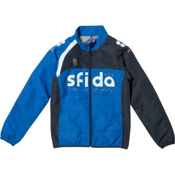 BASIC WIND JKT(ナカワタ) SFIDA スフィーダ フットサルナカワタジャケット (sabp10-青)