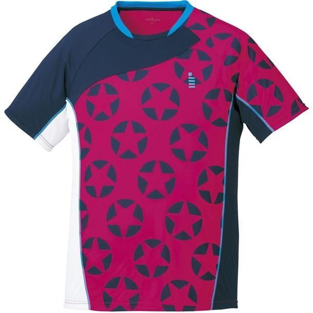 ホシガラゲームシャツ GOSEN ゴーセン テニスゲームシャツ (t1714-81)