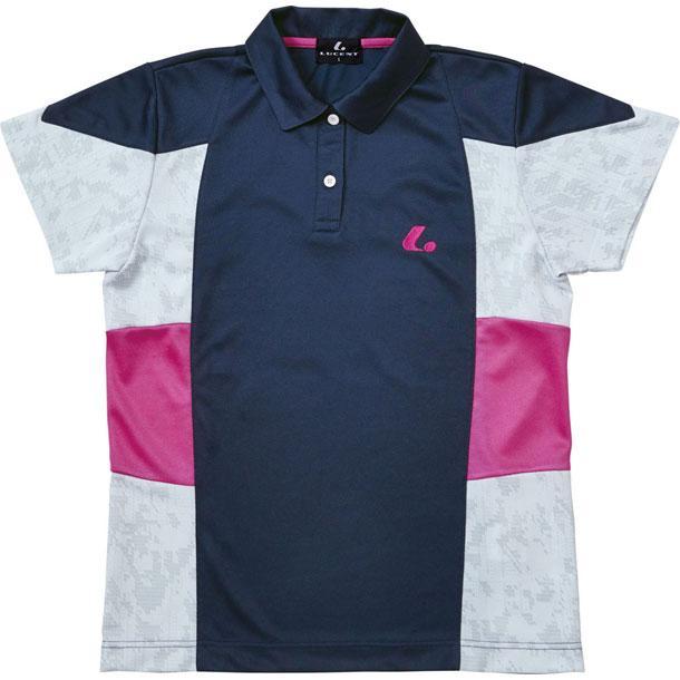 LADIESゲームシャツ XLP4766 LUCENT ルーセント テニスTシャツ W (XLP4766)