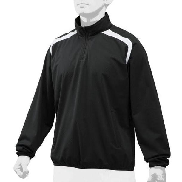ハーフZIPジャケット MIZUNO ミズノ 野球 ウエア ハーフZIPジャケット (12JE9V31)
