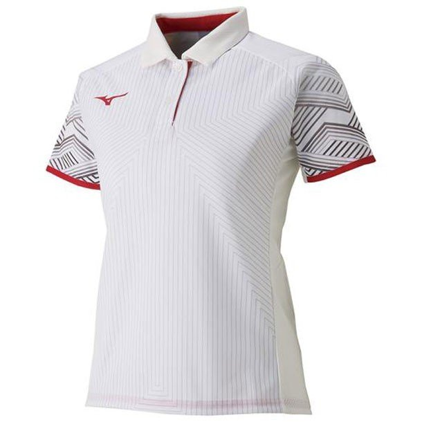 ゲームシャツ(ラケットスポーツ・レディース) MIZUNO ミズノ テニス/ソフトテニス ウエア ゲームウエア (62JA9216)