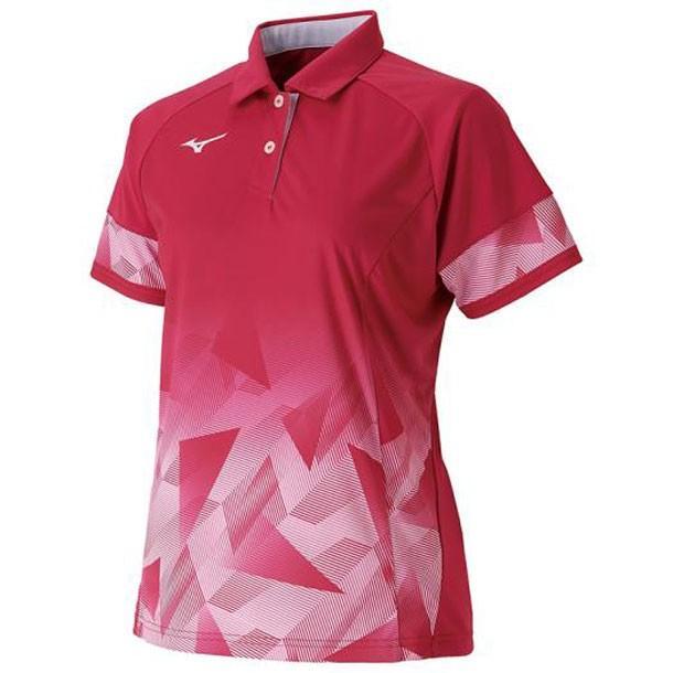 ゲームシャツ(ラケットスポーツ・レディース) MIZUNO ミズノ テニス/ソフトテニス ウエア ゲームウエア (62JA9706)