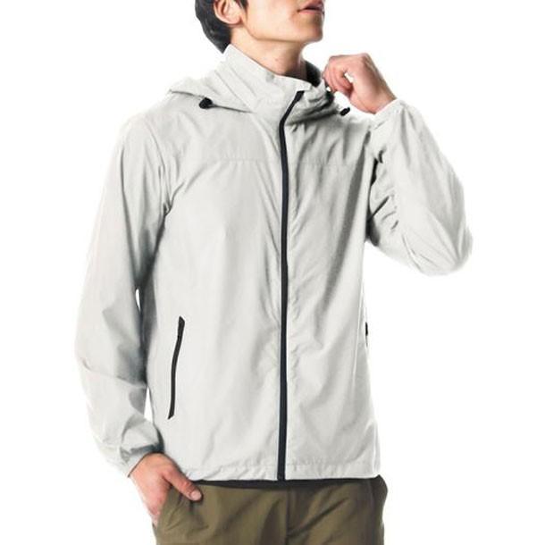 ベーシックトレイルジャケット(メンズ) MIZUNO ミズノ アウトドア ウエア ジャケット/パーカー (A2ME8007)