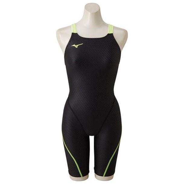 ハーフスーツ(レディース) MIZUNO ミズノ スイム 競泳水着 エクサースーツ(練習用水着) (N2MG8271)