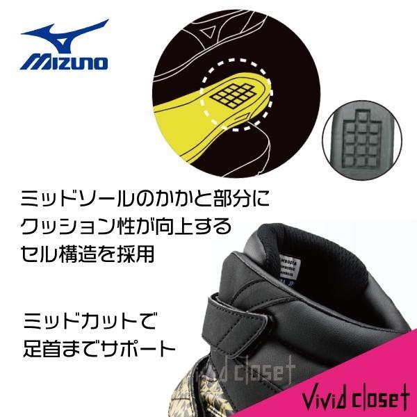 ミズノ 安全靴 F1GA1906 ブレスサーモ ミッドカット 数量限定 作業靴|vivid-closet|10