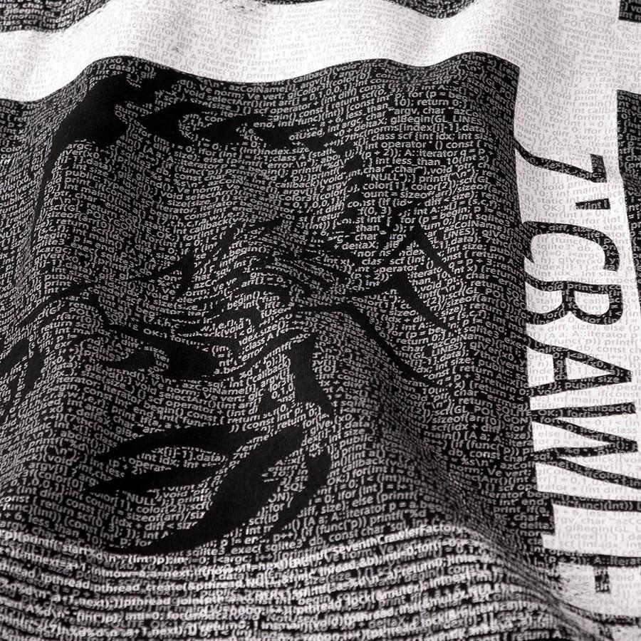 長袖Tシャツ メンズ ロンT ロングTシャツ 恋愛運上昇 アメカジ ブランド セブンスクローラー 正規品 ブラック|vividstyle|03
