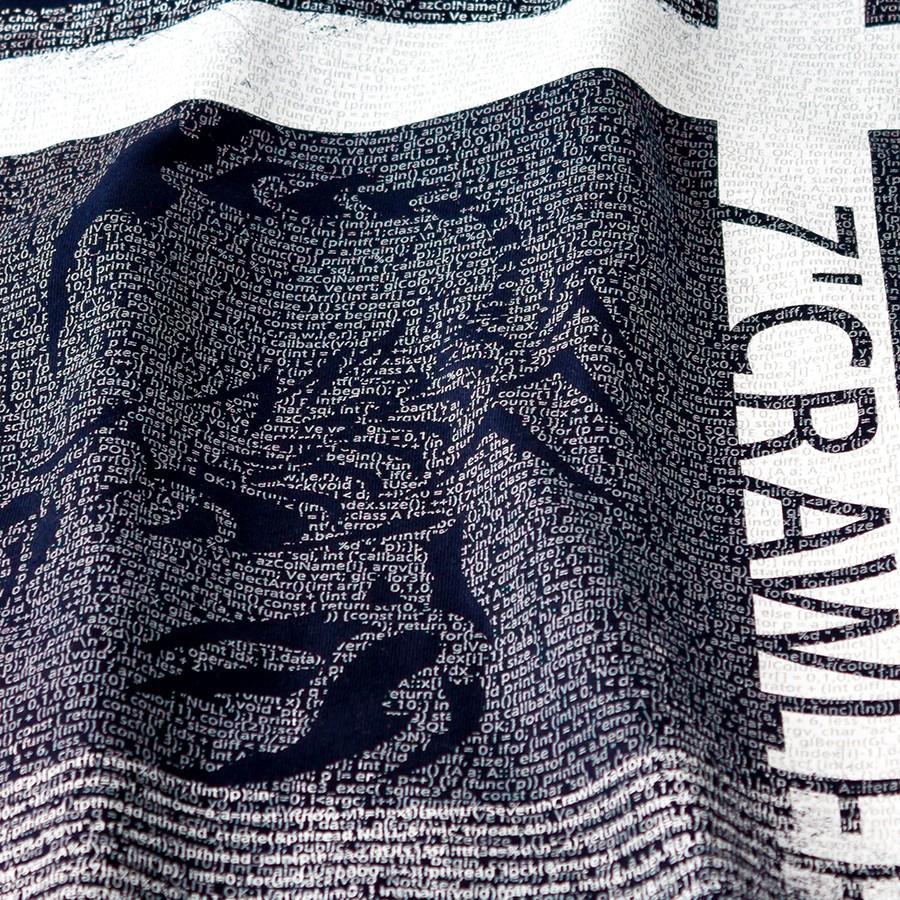 長袖Tシャツ メンズ ロンT ロングTシャツ 金運上昇 アメカジ ブランド セブンスクローラー 正規品 ネイビー vividstyle 03