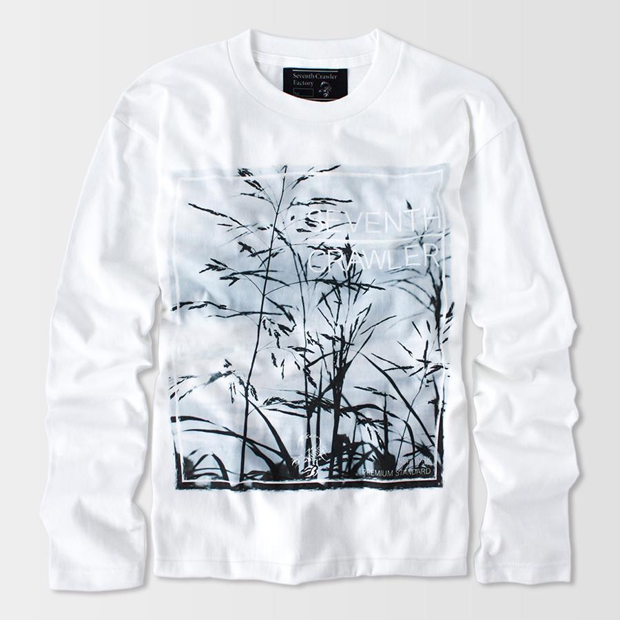 長袖Tシャツ メンズ ロンT ロングTシャツ 金運上昇 アメカジ ブランド セブンスクローラー 正規品 ホワイト|vividstyle|02