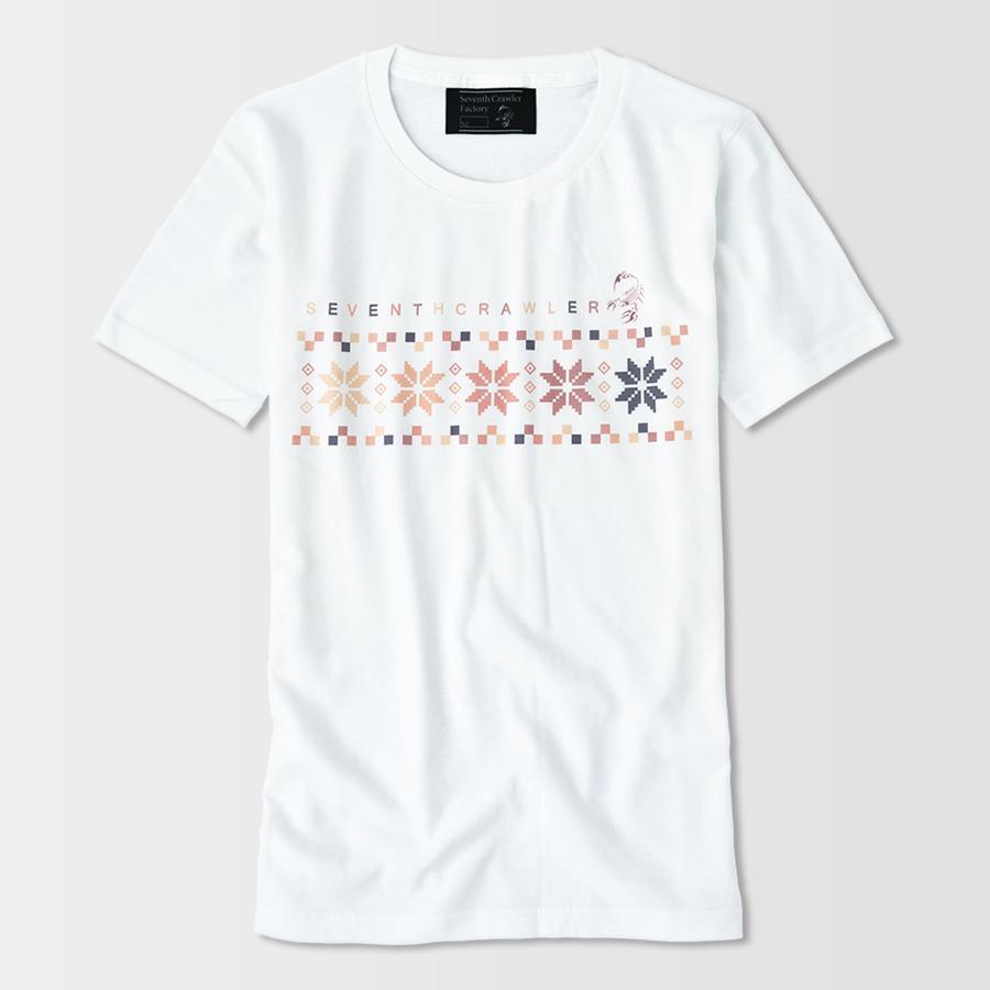 Tシャツ メンズ 半袖 アメカジ ブランド セブンスクローラー 正規品 ホワイト|vividstyle|02