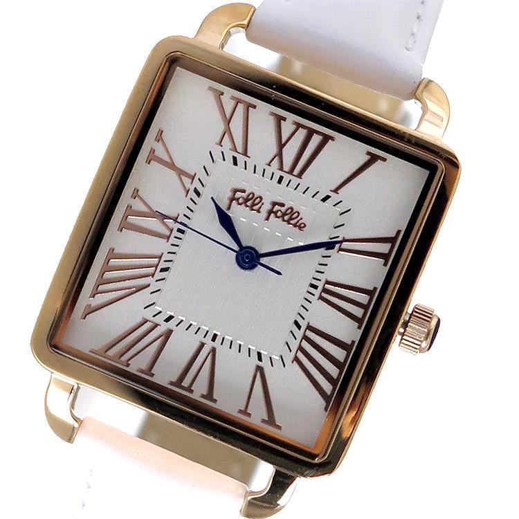 上質で快適 フォリフォリ 腕時計 腕時計 レディース Follie Folli ホワイト Follie レザー ホワイト, バルドンフィルステージ:b6a660f1 --- airmodconsu.dominiotemporario.com
