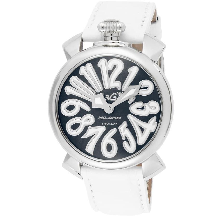 トップ ガガミラノ アナログ GaGa 腕時計 腕時計 レディース&メンズ GaGa MILANOFRED アナログ ホワイト/シルバー, ボディピアス専門店 スリーナイン:e8484b67 --- airmodconsu.dominiotemporario.com