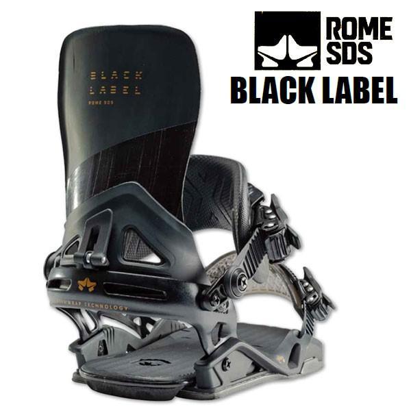 19-20 ROME ローム エスディエス 黒 LABEL メンズ ビンディング 正規品 ROME SDS バインディング BINDING 2019-2020 予約商品