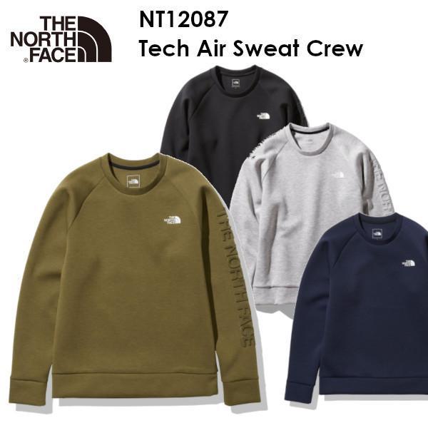 The North Face ノースフェイス Tech Air Sweat Crew NT12087 テック エアー スウェット クルー メンズ クルーネック アウトドア ザ・ノース・フェイス voltage