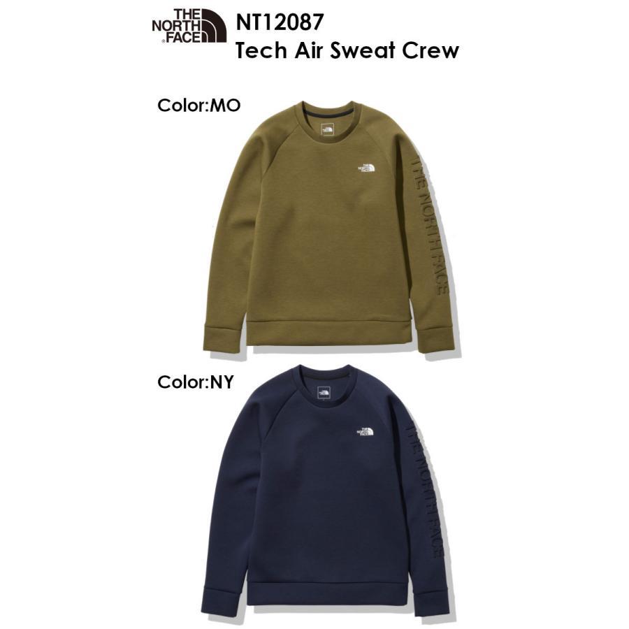 The North Face ノースフェイス Tech Air Sweat Crew NT12087 テック エアー スウェット クルー メンズ クルーネック アウトドア ザ・ノース・フェイス voltage 02
