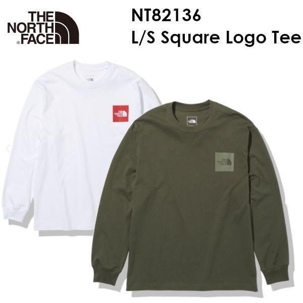 [メール便発送] The North Face ノースフェイス L/S Square Logo Tee NT82136 ロングスリーブ スクエア ロゴ ティー メンズ ザ・ノース・フェイス 正規品取扱店|voltage