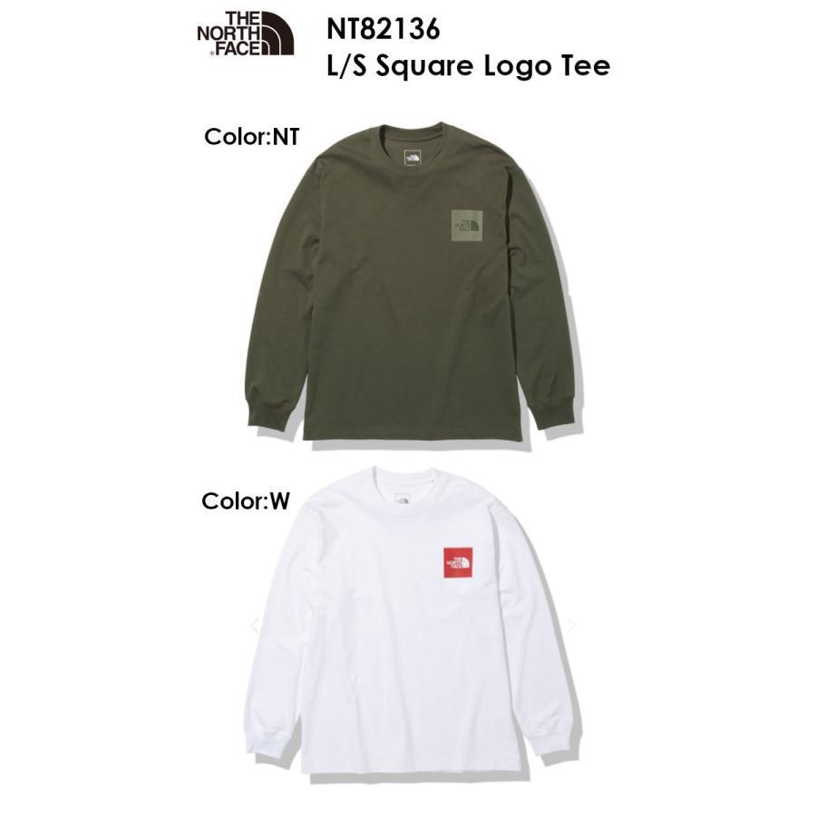 [メール便発送] The North Face ノースフェイス L/S Square Logo Tee NT82136 ロングスリーブ スクエア ロゴ ティー メンズ ザ・ノース・フェイス 正規品取扱店|voltage|02