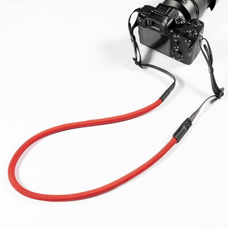 クライミングロープ カメラ用 ネックストラップ グレイッシュカラー ベルト式 全6色 vpc 07