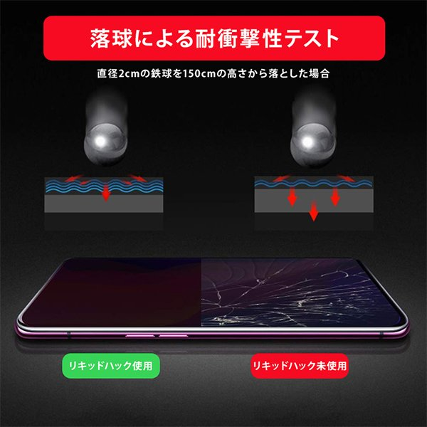 保護フィルム iPhone ガラスフィルム 液体ガラスフィルム 液体保護フィルム リキッドハック LIQUID_hack 5ml 塗る 日本製 硬度10H 強力 vt-web 12