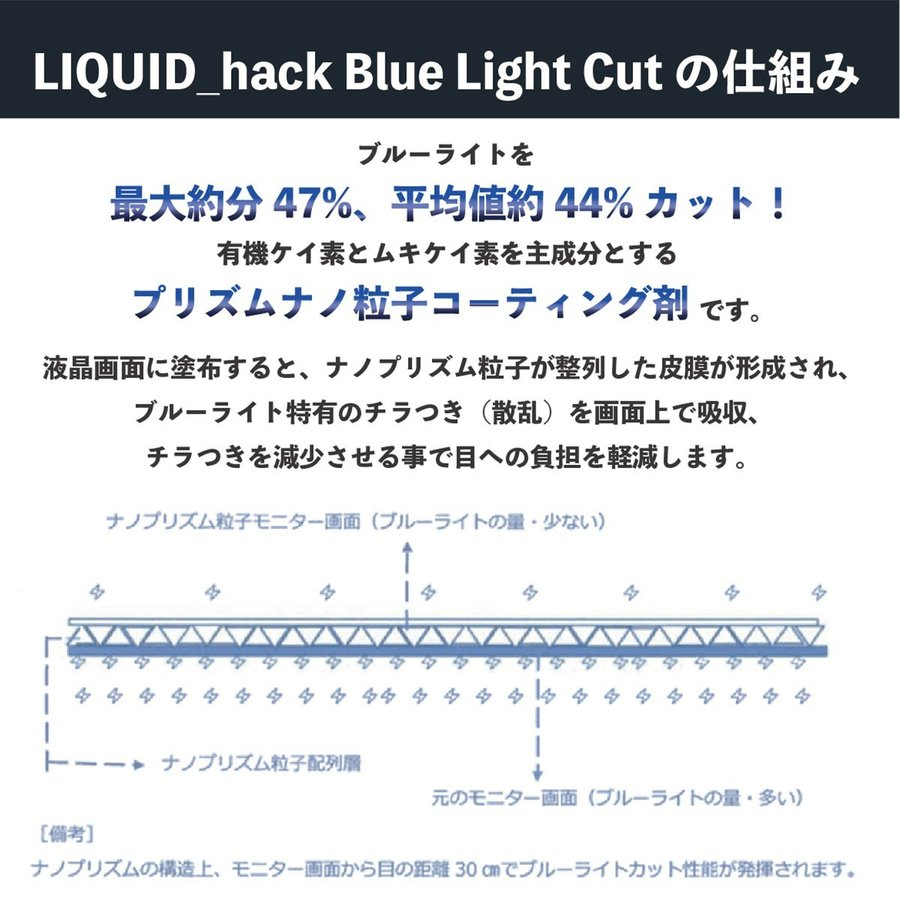 保護フィルム iPhone 12 13 ガラスフィルム 液体保護フィルム リキッドハック ブルーライトカット LIQUID_hack 5ml 日本製 硬度10H 強力|vt-web|10