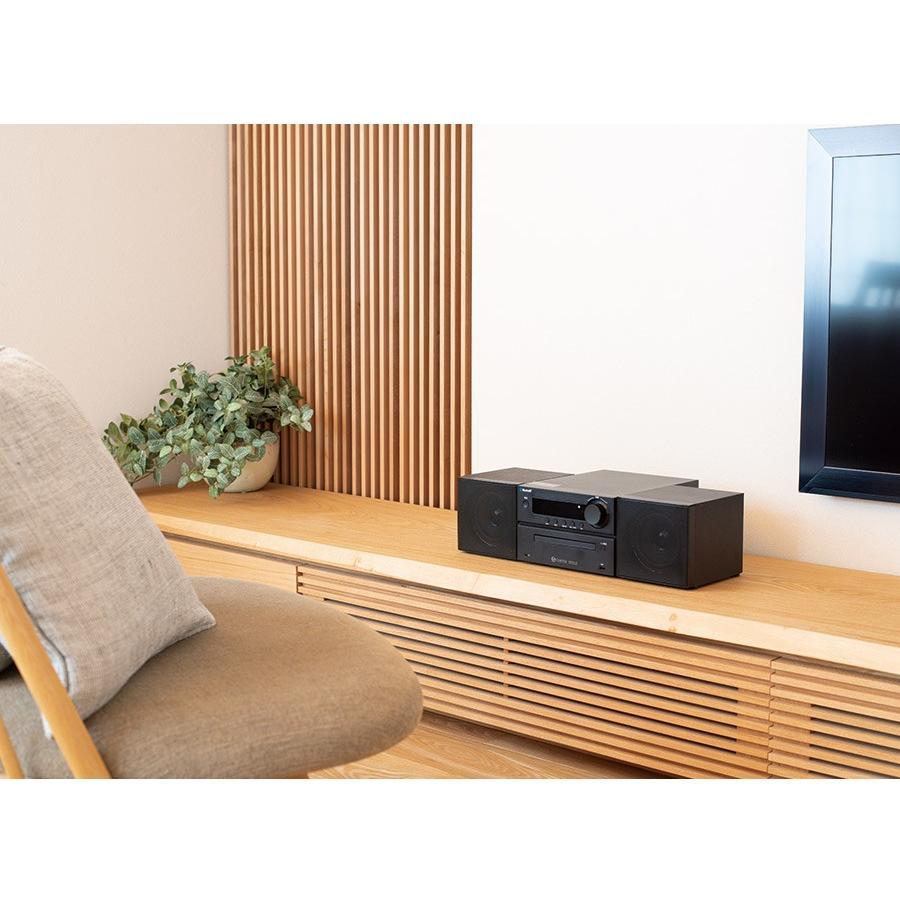 マイクロシステムコンポ with Bluetooth CDプレーヤー コンパクト CD/USB再生 FMラジオ ワイドFM対応 MP3録音 VERTEX ヴァーテックス BTMC-V002 RSL|vt-web|07