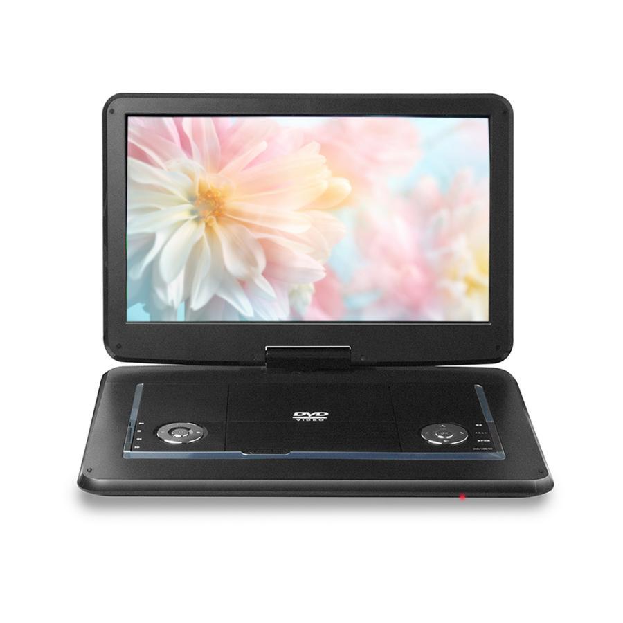 ポータブルDVDプレーヤー 安い 車載 16インチ 15.6インチ 大画面 CD DVD USB SDカード 2時間再生 大画面 ゲームモニター PDVD-157 父の日|vt-web|07