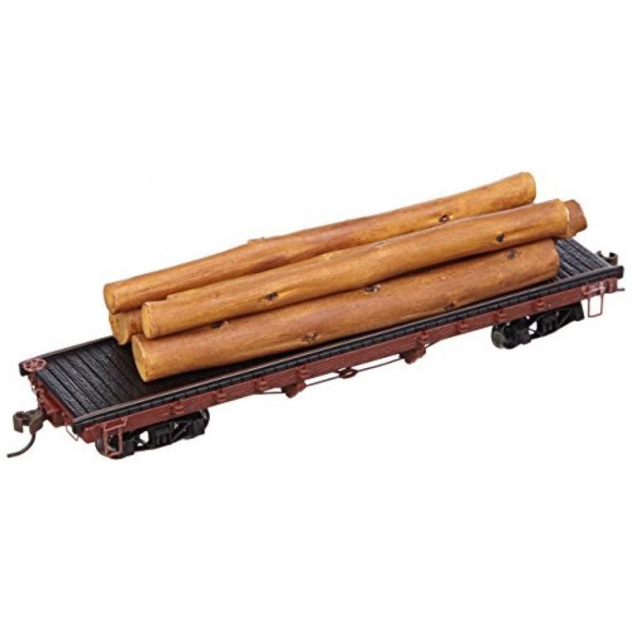 Bachmann Trains ACF 40' Log Car with Logs (1935-1960)