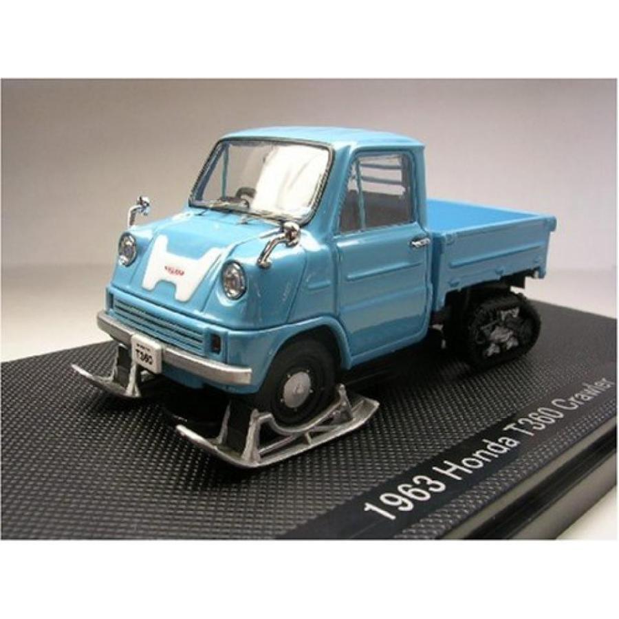 Honda T360 Truck Crawler 1965 青 1/43 Scale Diecast Model