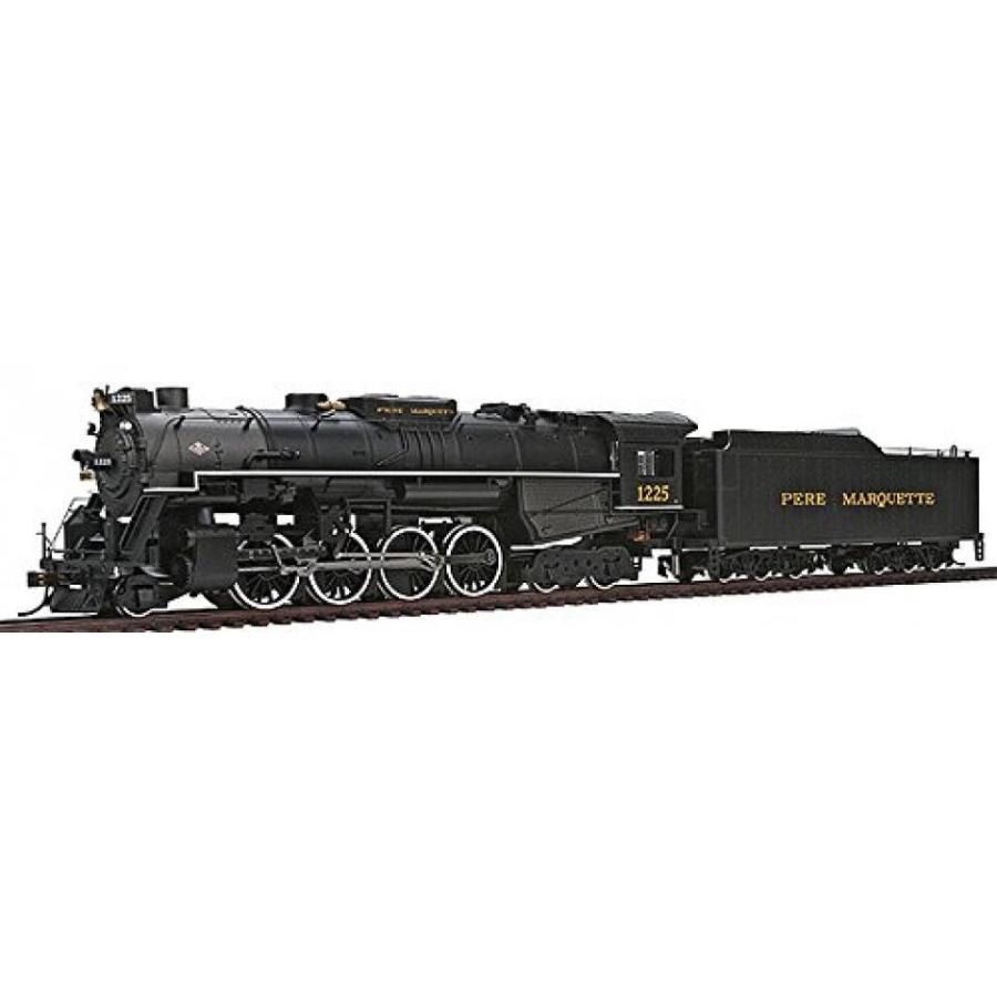 HO scale Bachmann Trains 2-8-4 Berkshire Pere Marquette 1225