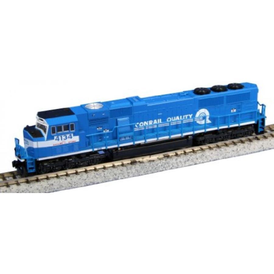 Kato USA Model Train Products EMD SD70MAC #4134 Conrail N Scale Train