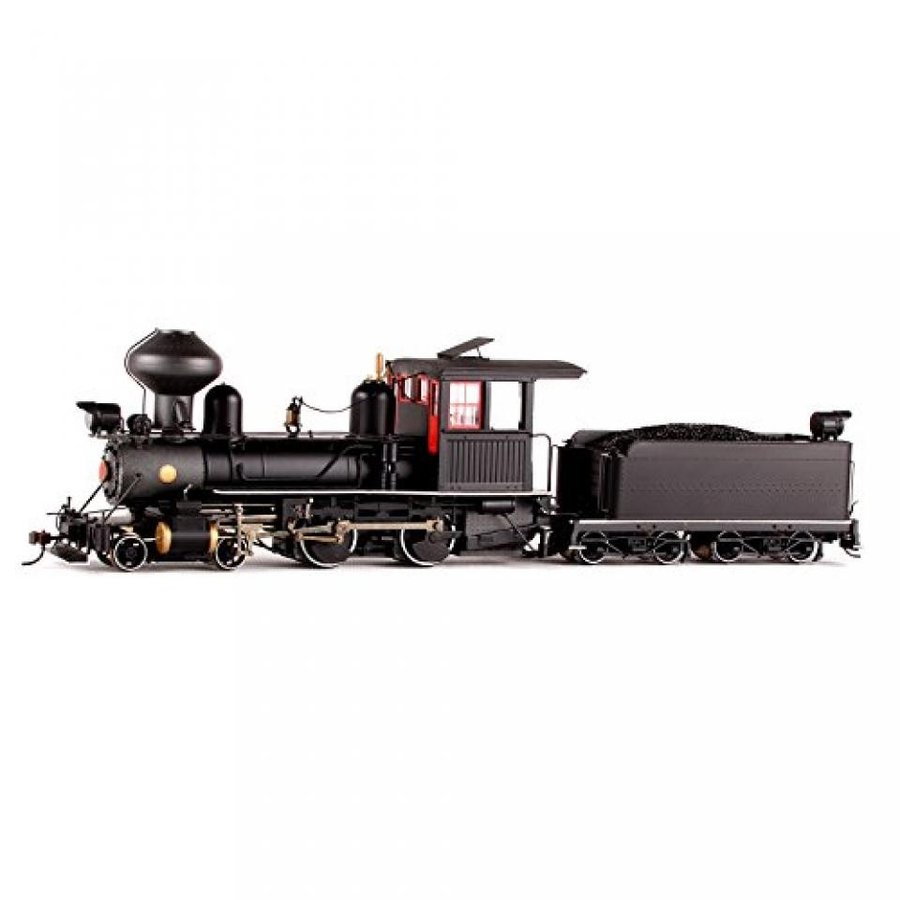 On30 Spectrum 4-4-0 w/DCC, 黒/赤/白い by Bachmann Trains