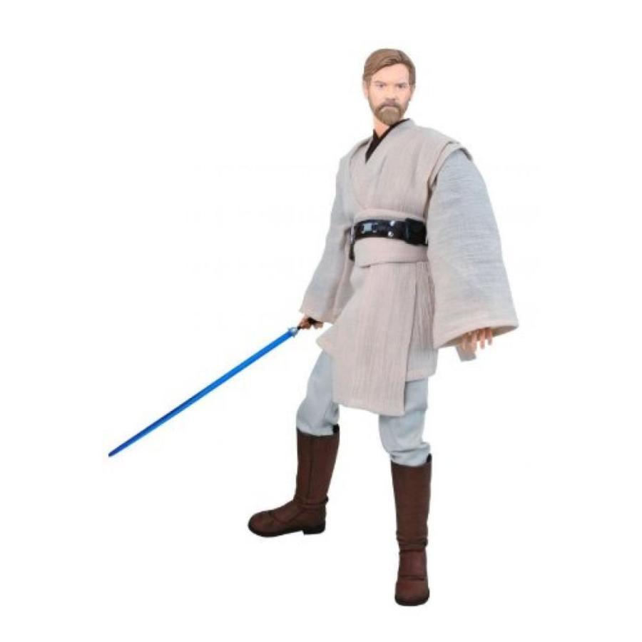 Episode III Obi-Wan Kenobi Action Figure Ultimate Quarter Scale Star Wars