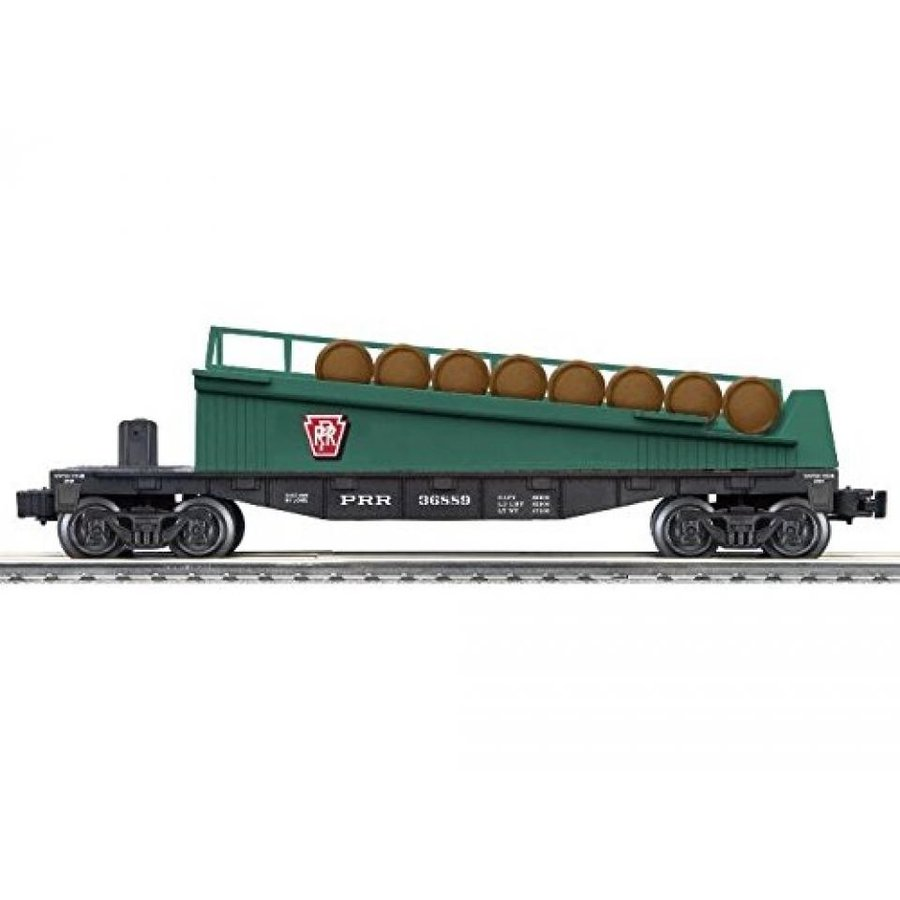 Lionel Penn Railroad Barrel Ramp Car