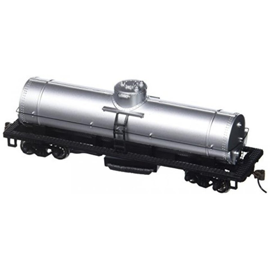 Bachmann Trains Track Cleaning Tank Car-Unlette赤-銀-Ho Scale