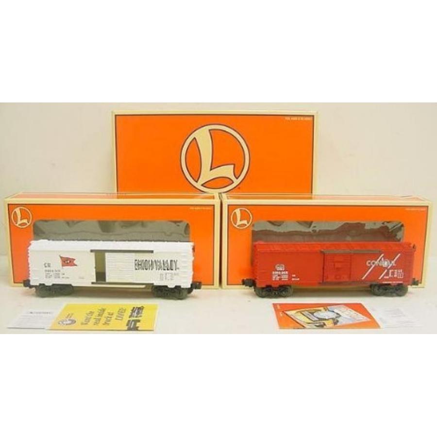 Lionel 6464 Boxcar 2 Pack Overstamped Cnj, Lv 6-29281