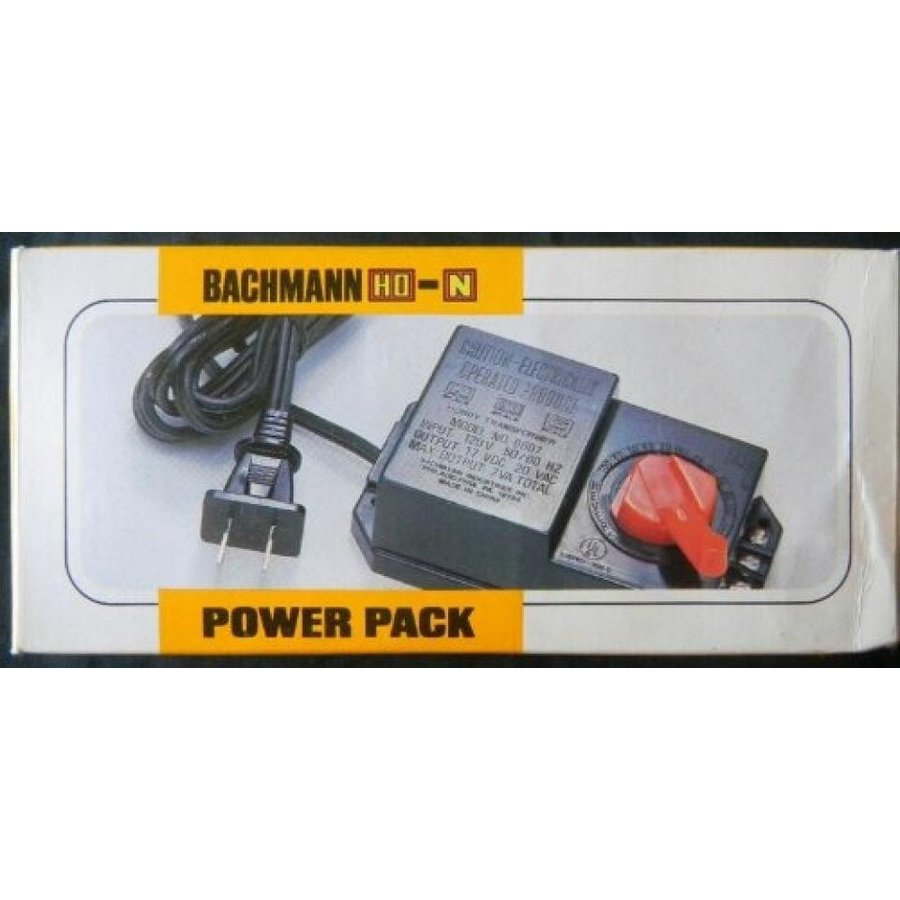 Bachmann HO and N Scale Power Pack