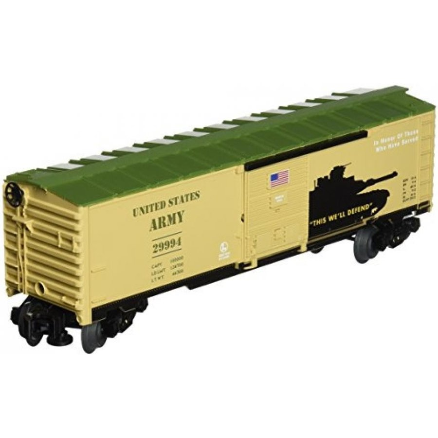 Lionel Trains Army US made Boxcar