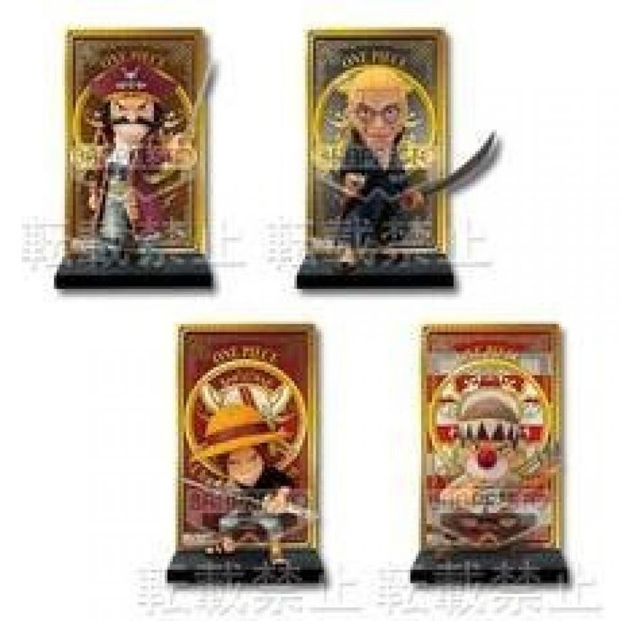 All four lottery one piece ~ Change of Generation ~ F Award Roger Pirates card stand figure most