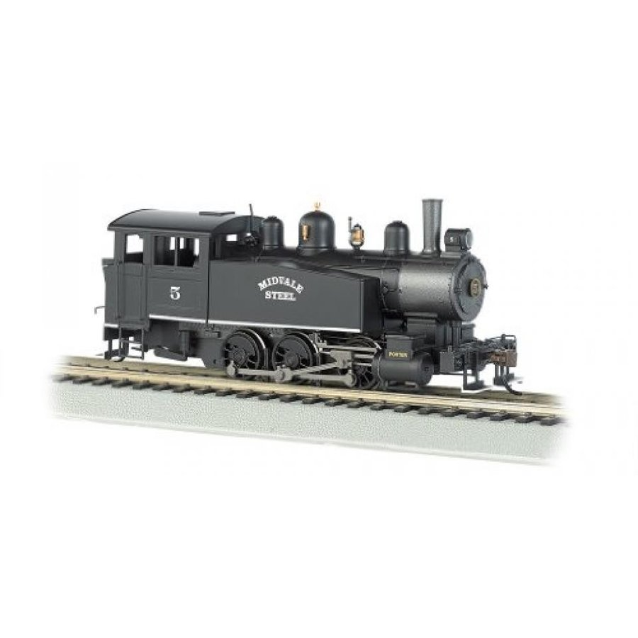 Bachmann Industries 060 Porter Side Tank Dcc Equipped Locomotive Midvale Steel #5 HO Scale Train Car