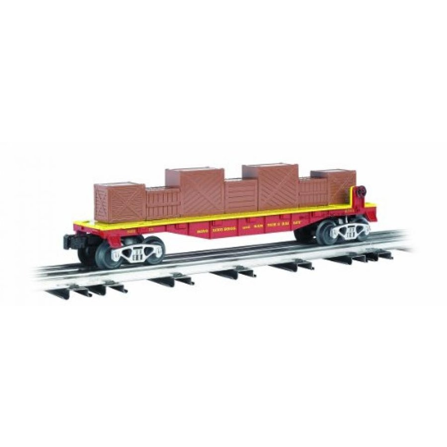 Williams by Bachmann Flat Car with Crates - Ringling Bros. and Barnum and Baily #119 - O Scale