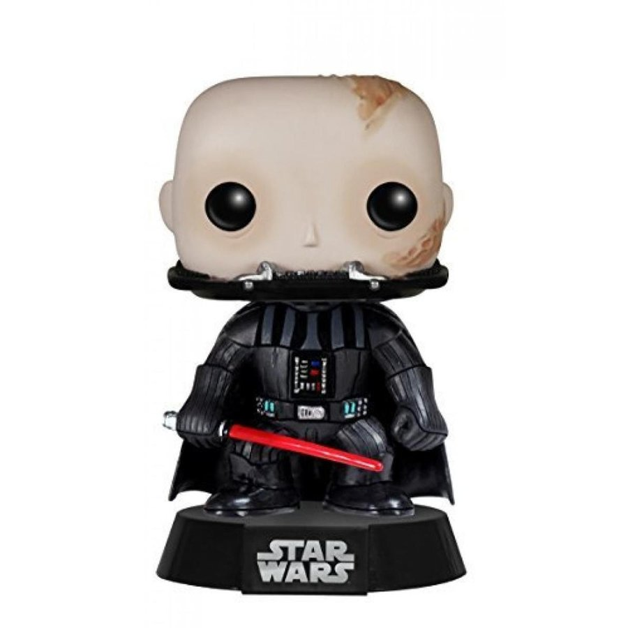 Funko POP Star Wars: Unmasked Darth Vader Action Figure
