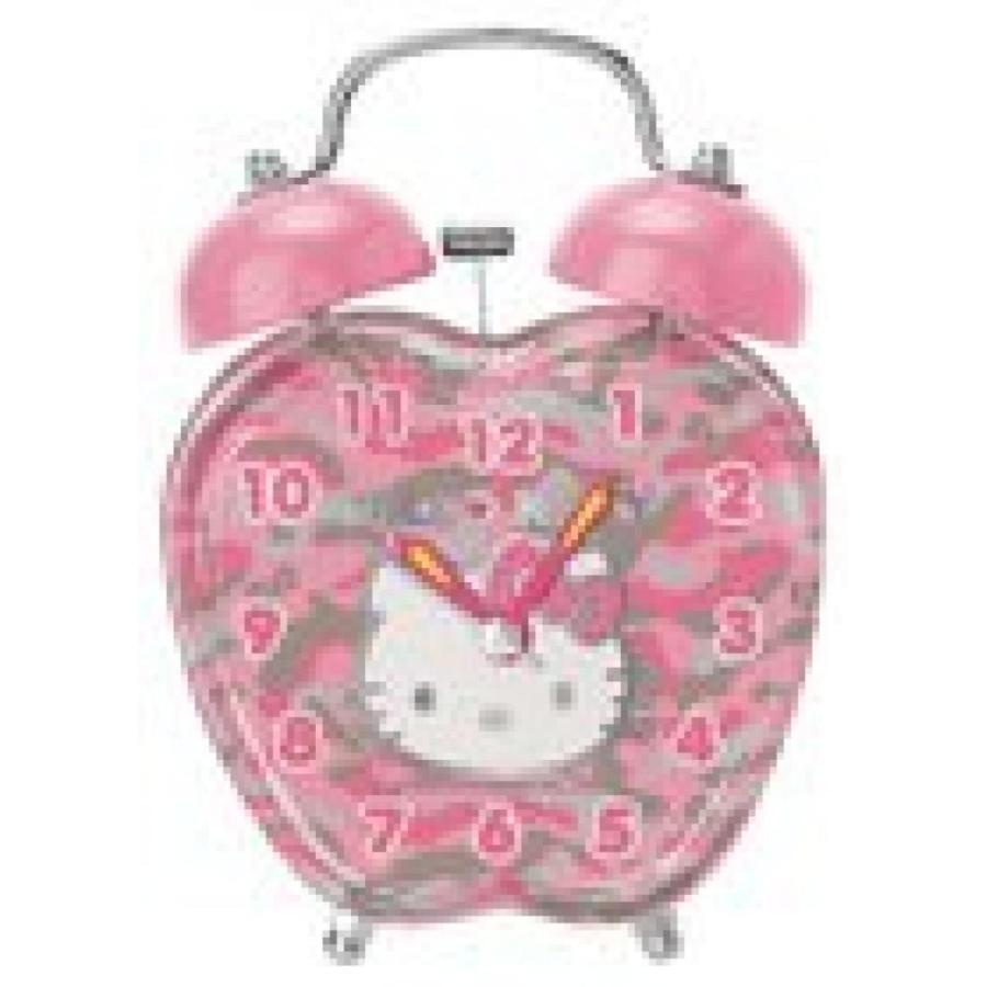 Hello Kitty Alarm Clock:camouflauge