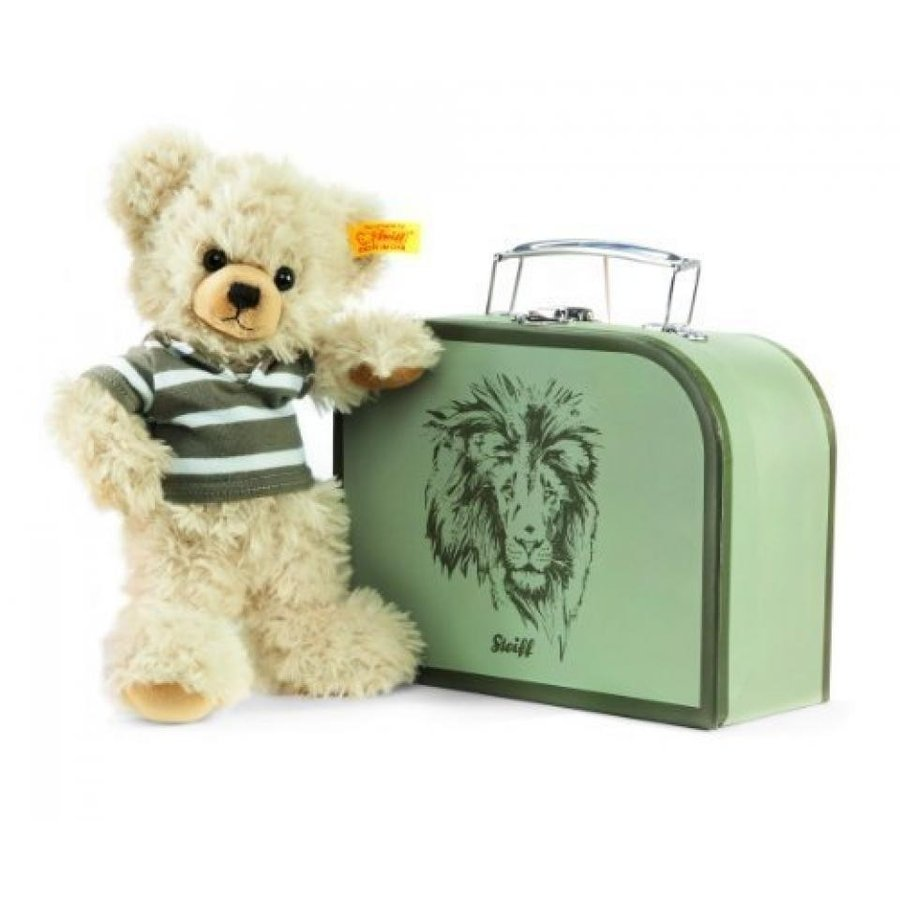 Steiff Lenni Teddy Bear in Suitcase (Blond) by Steiff